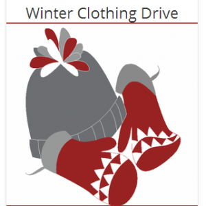 Annual Coat Drive—Drop off your donations by October 16